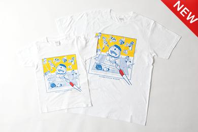 FキャラクターズTシャツ